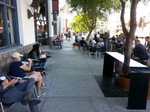 San Diego's only Parklet is in this same neighborhood. Thanks to Karen Goyette for use of the image.